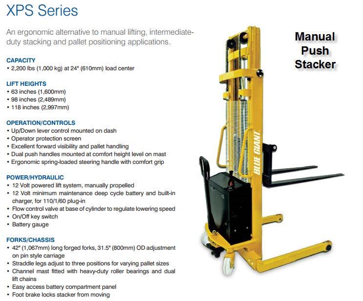 Lift Trucks & Stackers — Nelson Equipment