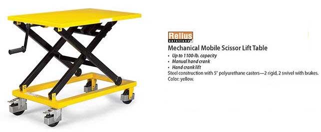 Exceptionnel Shop Mobile Scissor Lifts