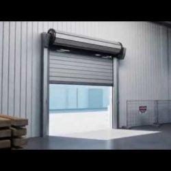 Albany RR3000 ISO insulated high-speed door & Dock Doors \u2014 Nelson Equipment